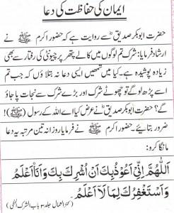 Protection of Iman 1